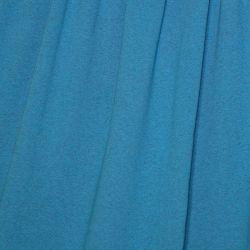 Molleton bio chiné turquoise