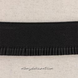 Élastique jupe noir