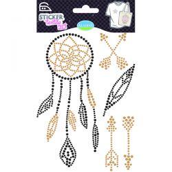 Sticker textile stones attrape rêve