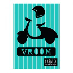 Motif thermocollant vespa