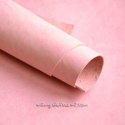 Cuir rose clair mat