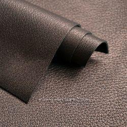 Cuir chocolat/bronze