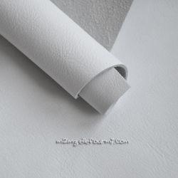 Cuir blanc mat