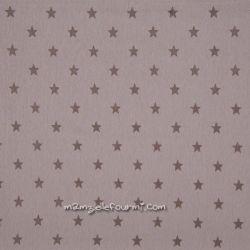 Bord-côte étoiles taupe