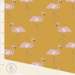 Jersey bio flamingo gold