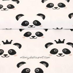Jersey bio pandas blanc