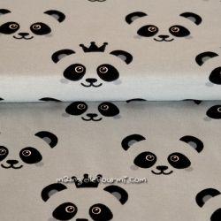 Jersey bio pandas grège