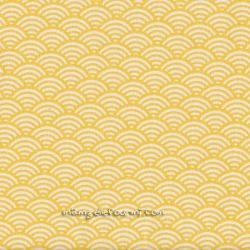 Cretonne sushis jaune