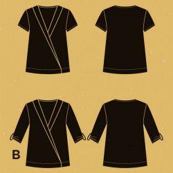 Patron blouse Hoya