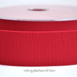 Gros grain élastique 36mm Frou-Frou rouge