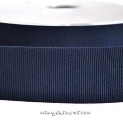 Gros grain élastique 36mm Frou-Frou marine