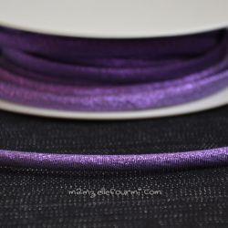 Cordon Frou-Frou scintillant violet