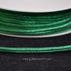 Cordon Frou-Frou scintillant vert