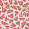 Cretonne pastèques rouge
