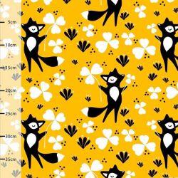 Jersey bio clover fox jaune soleil