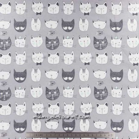 Jersey bio cats gris