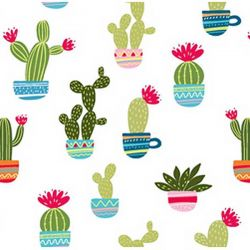Jersey cactus blanc