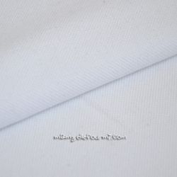 Maille polo blanche