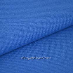 Maille polo bleu cobalt