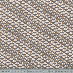 Coton facette cuivre