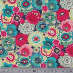 Coton baya multicolore