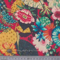 Coton Lorena multicolore