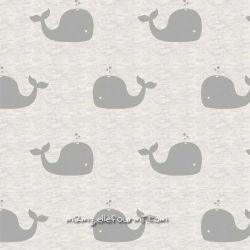 Sweat/molleton whale