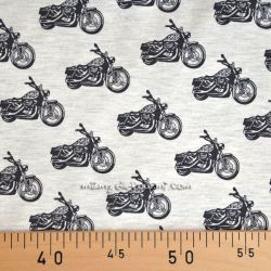 Jersey harley gris chiné