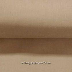 Velours babycord sable