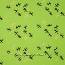Jersey geko glitter lime