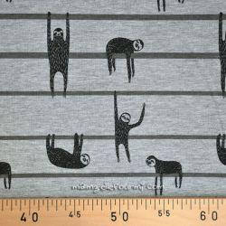 Molleton paresseux gris