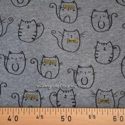 Molleton mister cat gris