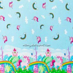 Jersey licornes rainbow