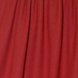 Jersey de laine rouge bio