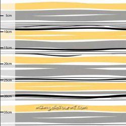 Jersey bio waves gris/jaune
