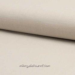 Lin/coton stretch beige