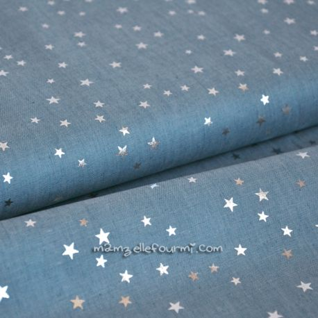 Chambray silver star clair