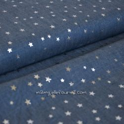 Chambray silver star moyen