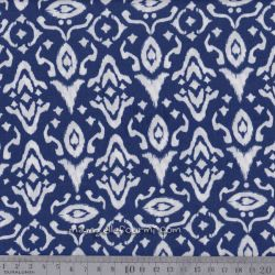 Viscose blue ink