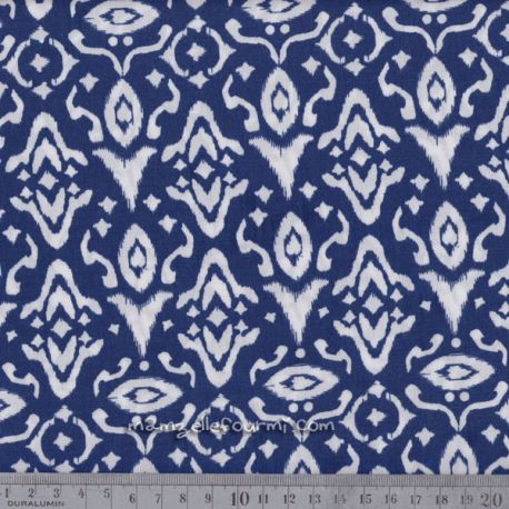 Viscose ink blue
