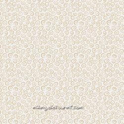 Coton dream swirls crème/or