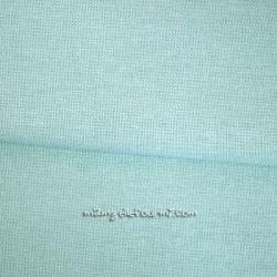 Coton natté menthe