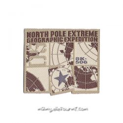 Patch thermocollant north pole
