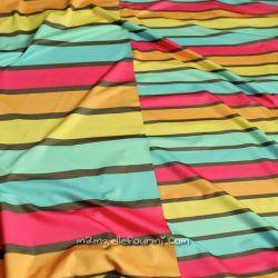 Lycra summer stripes girls