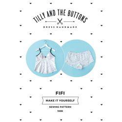 Patron lingerie Fifi