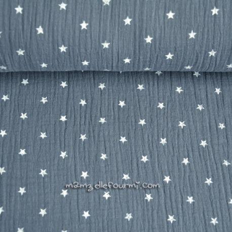 Double gaze étoiles grise