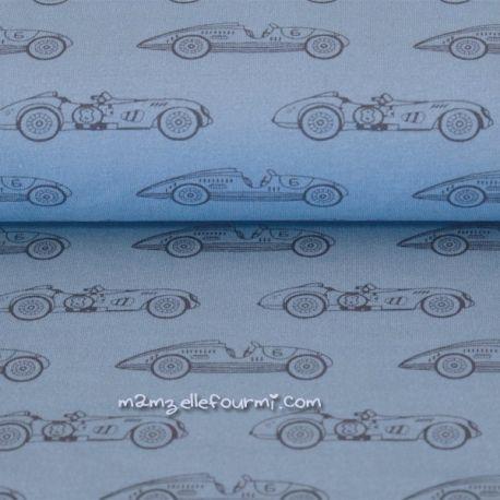Jersey bio racing bleu