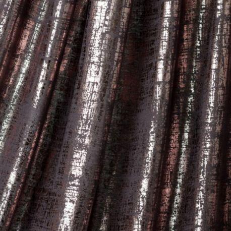 Jersey métallique noir/argent