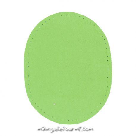 Coudières simili 9X12 vert