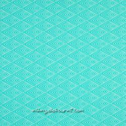Jacquard stretch graphique mint